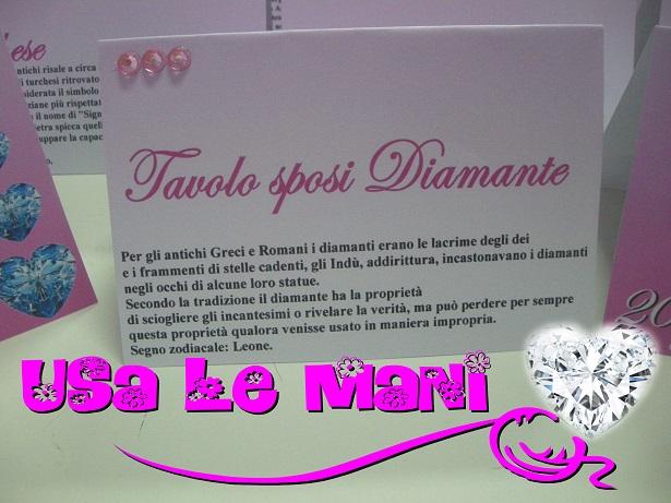 Famoso Matrimonio tema pietre preziose, colore fucsia - Usa le mani OT53