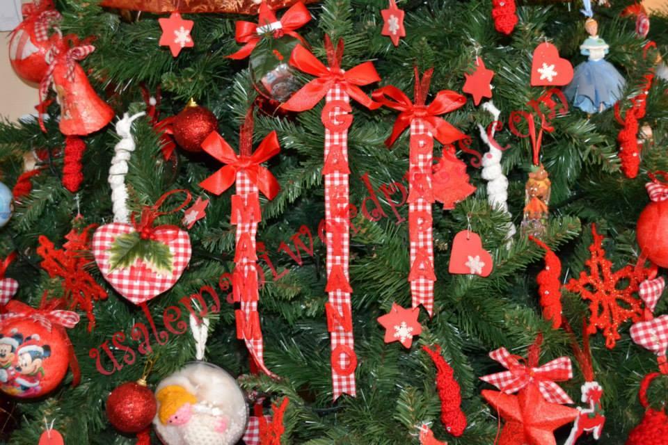 Tutorial decorazioni facilissime per albero di natale fai - Decorazioni albero di natale ...