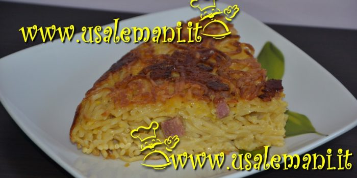 Frittata di pasta, ricetta golosa
