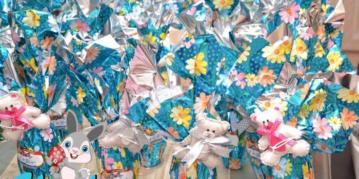Bomboniera compleanno tema Pasqua