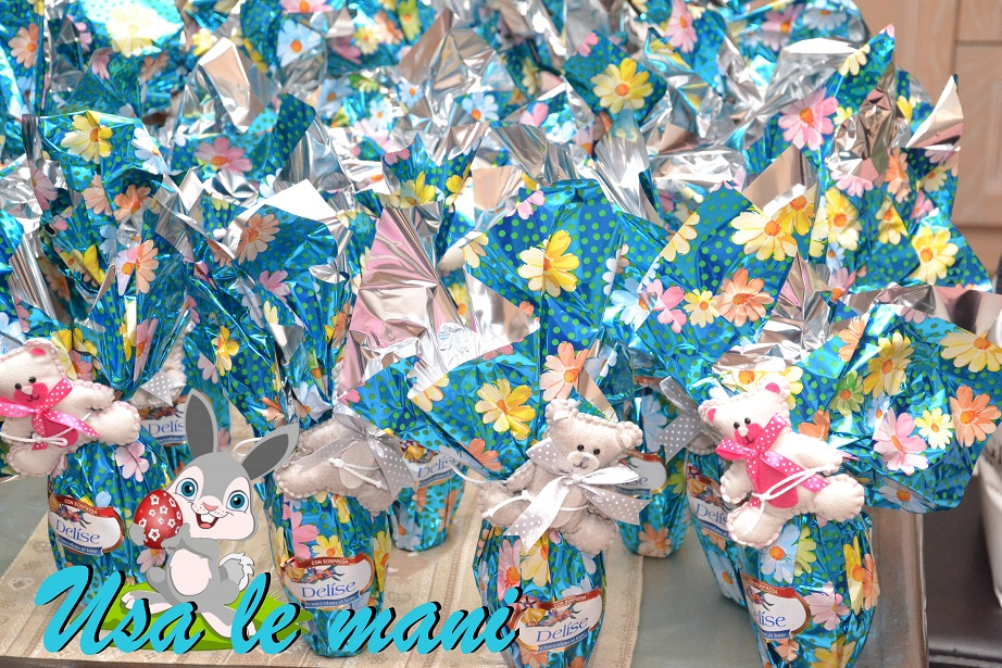 Favorito Idea bomboniere fai da te compleanno a Pasqua - Usa le mani OM46