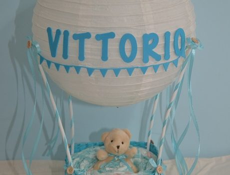 Hot Air Balloon Diaper Cake Tutorial