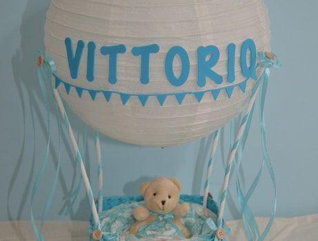 Hot Air Balloon Diaper Cake Tutorial
