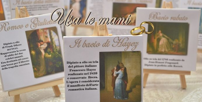 Matrimonio a tema l amore nell arte wedding theme love in art