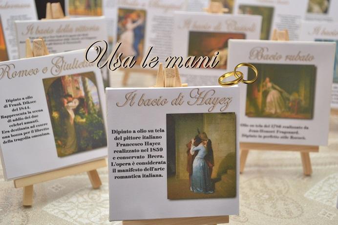 Favoloso Matrimonio a tema: l'amore nell'arte / Wedding theme: Love in art  VP53