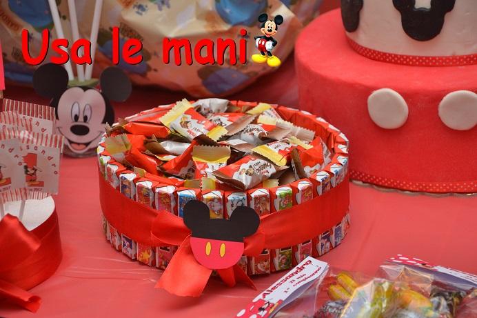 Decori Party Fai Da Te Topolino Mickey Mouse Party Diy