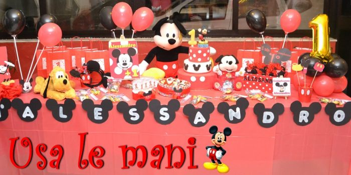 Decori party fai da te Topolino / Mickey mouse party DIY