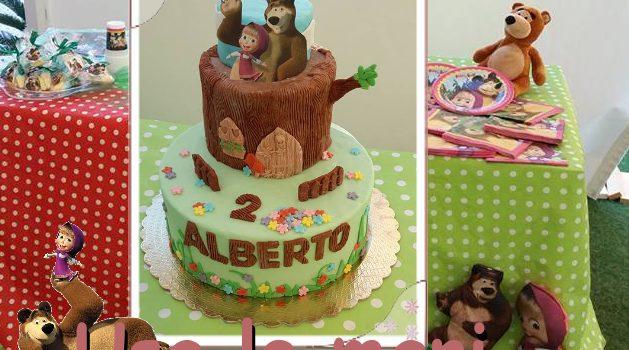masha e bear cake