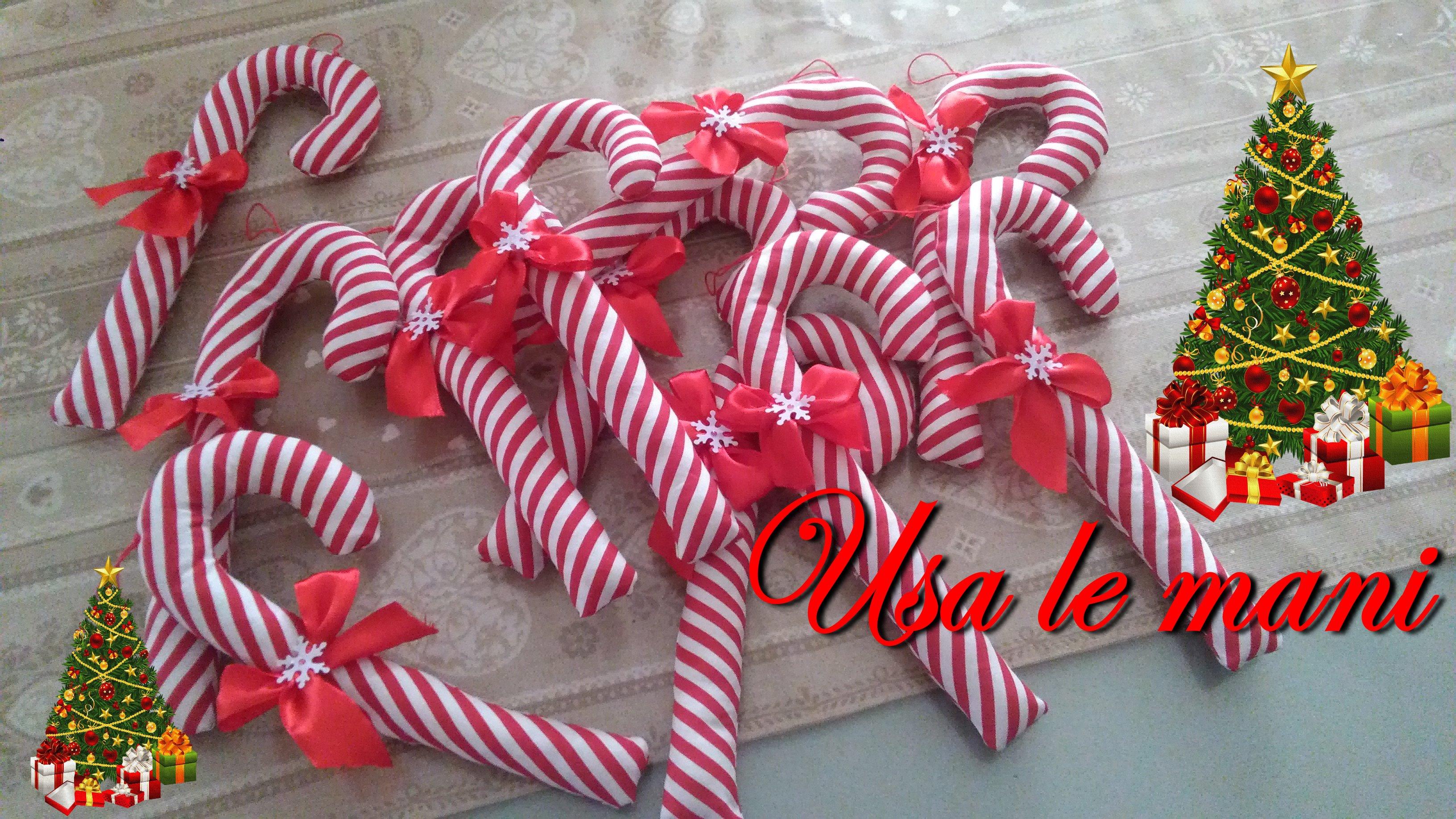 Idee Cucito Per Natale : Cucito creativo di natale bastoncini di zucchero usa le mani