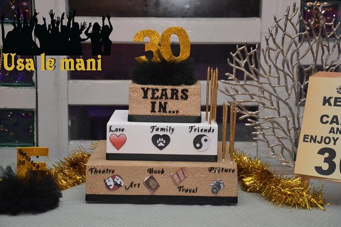 Ben noto Idee festa di compleanno 30 anni. Gold party. - Usa le mani XV88