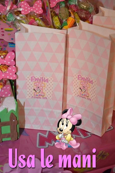 Molto Idee fai da te primo compleanno tema Minnie - Usa le mani FM38