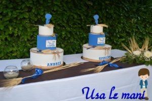 torta scenografica prima comunione