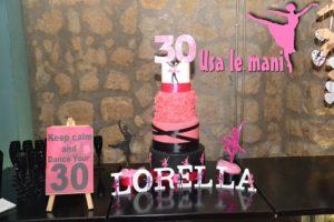 dancer cake