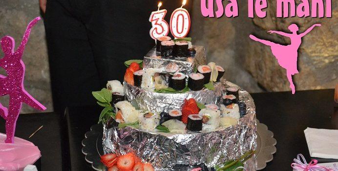 torta di sushi fai da te