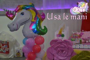 decori party unicorno