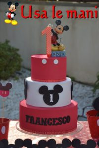 mickey mouse fake cake