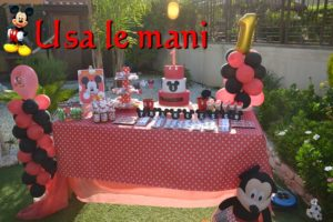 mickey mouse party diy