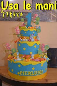 torta primo compleanno bimbo