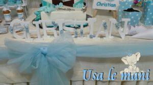 idee battesimo maschietto