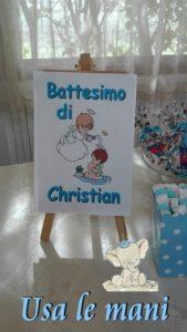 idee battesimo fai da te