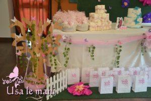 sweet table prima comunione bimba