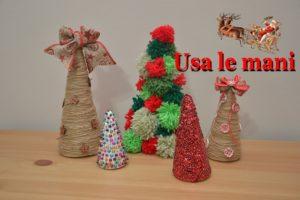 christmas polystyrene cones