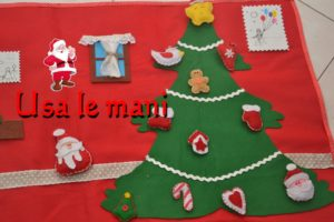 Christmas wall quiet book