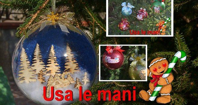 Immagini Natale Usa.Natale Fai Da Te Sfere In Plexiglass Con Glitter Usa Le Mani