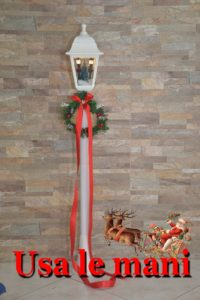 DIY Christmas street lamp