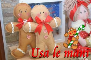 Gingerbread man DIY