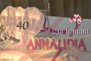 sweet table compleanno 40
