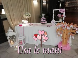sweet table 40 anni