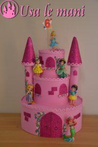 Castle fake cake