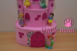 torta scenografica in fommy