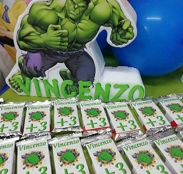 compleanno tema hulk