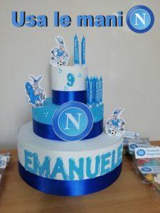 torta napoli calcio
