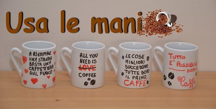 tazzine da caffè fai da te
