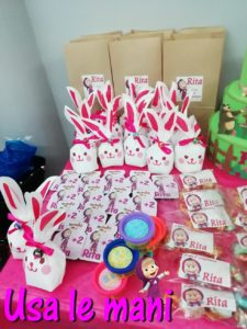 idee sweet table masha e orso