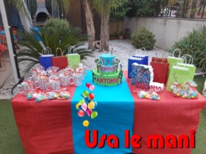 sweet table tema gormiti
