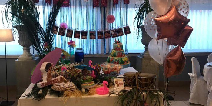 sweet table tema oceania