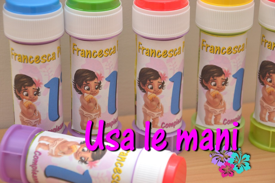 bolle di sapone per compleanno