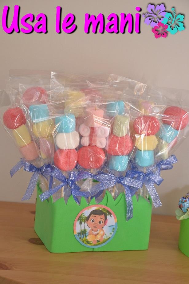 spiedini di caramelle fai da te