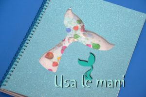 DIY mermaid school supplies