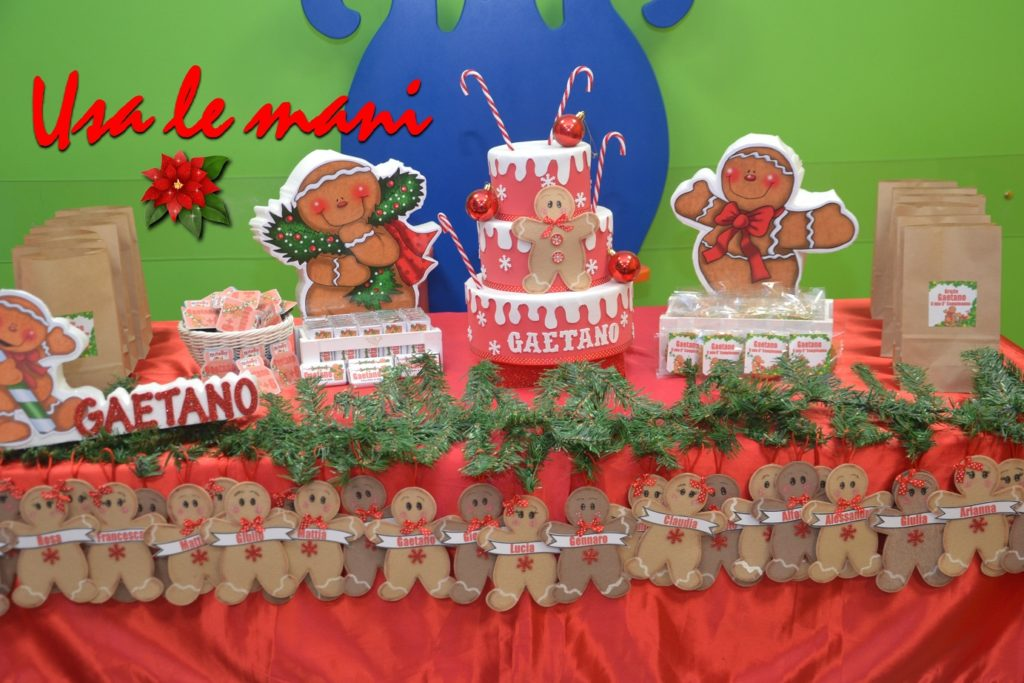 sweet table tema natale