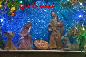 DIY christmas nativity scene